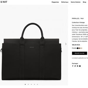 Mat and Nat vegan handbag